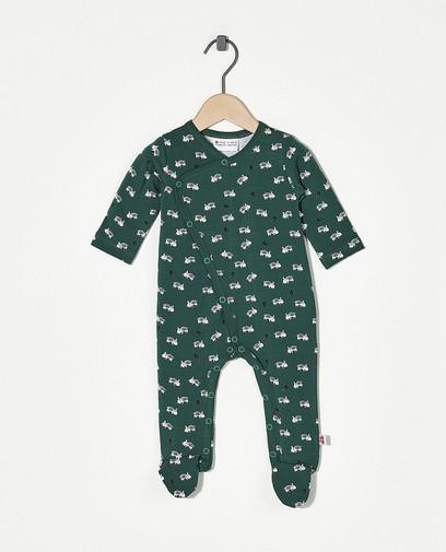 Grüner Schlafanzug Froy und Dind