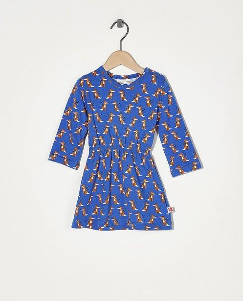Robe bleue avec imprimé Froy & Dind - Imprimé intégral - Froy en Dind