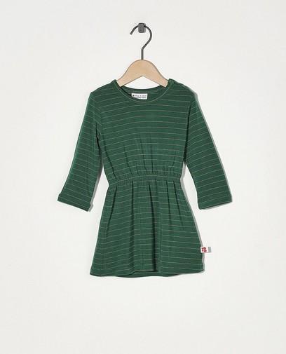 Robe verte à rayures Froy & Dind