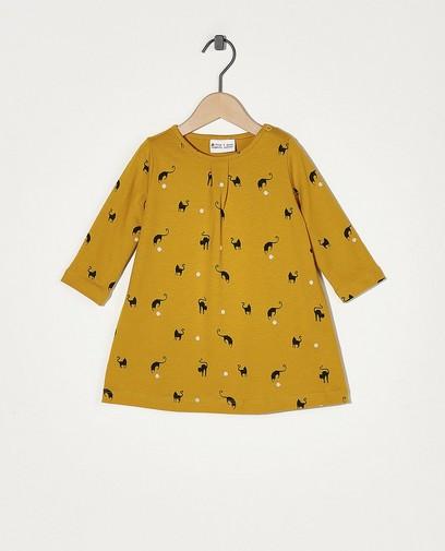 Robe jaune avec imprimé Froy & Dind