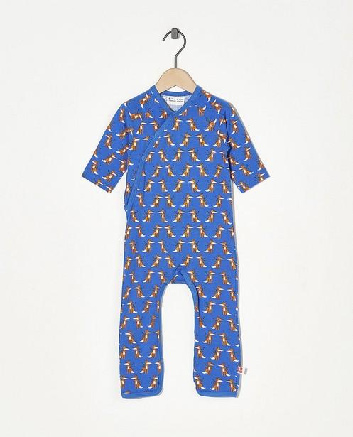 Pyjama bleu Froy & Dind - avec imprimé intégral - Froy en Dind