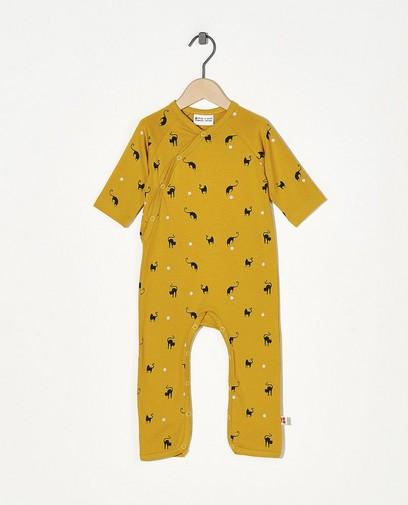Gelber Schlafanzug Froy und Dind