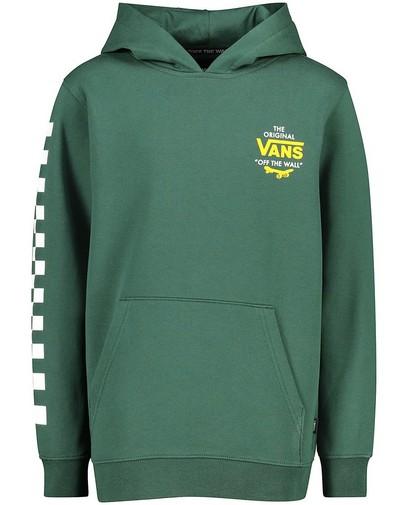 Groene hoodie met print Vans