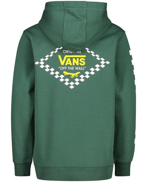 Sweats - Groene hoodie met print Vans