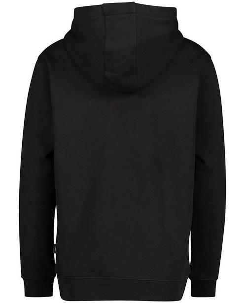 Sweats - Zwarte hoodie met print Vans