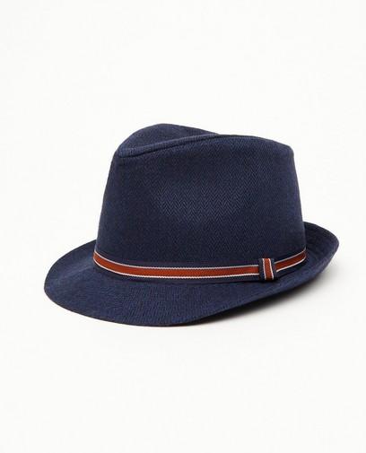 Blauwe hoed