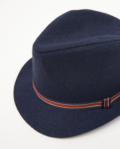 Breigoed - Blauwe hoed