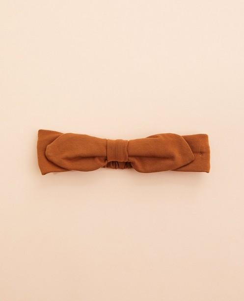 Bandeau brun avec nœud papillon BESTies - uni - JBC