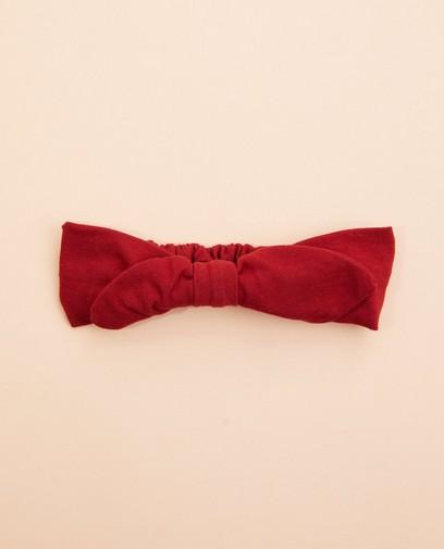 Rotes Haarband mit Schleife