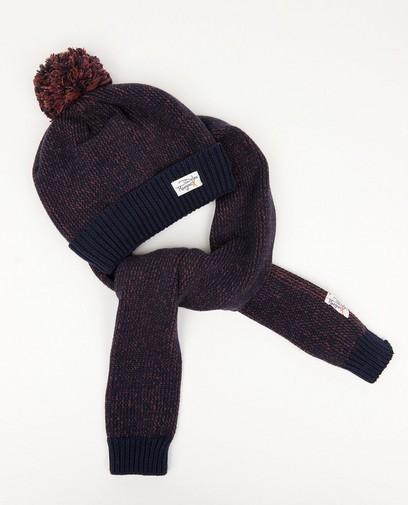 Ensemble: bonnet + écharpe Dylan Haegens