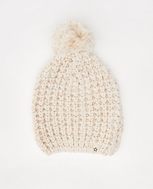 Muts met pompon Your Wishes, 0-1 M - gemêleerd - Your Wishes