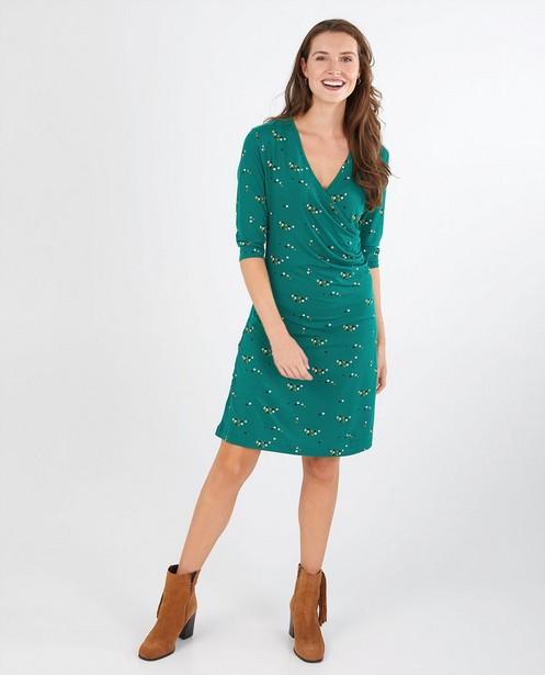 Robe verte avec imprimé Froy et Dind - écologique - Froy en Dind