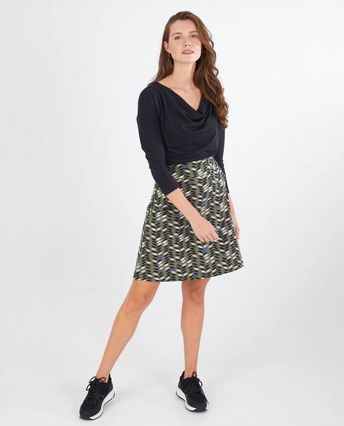T-shirt noir à manches longues Froy & Dind - écologique - Froy en Dind