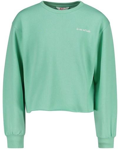 Groene sweater BESTies
