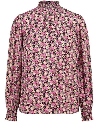 Roze blouse met print Sora