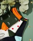 Chaussettes - 3 paires de chaussettes Baptiste, pointures23-30