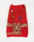 Gadgets - Rode kersttrui voor honden