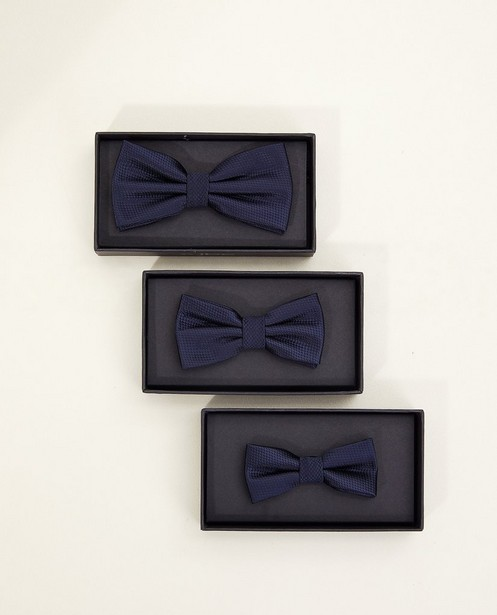 Cravates - Nœud papillon bleu, 7-14 ans