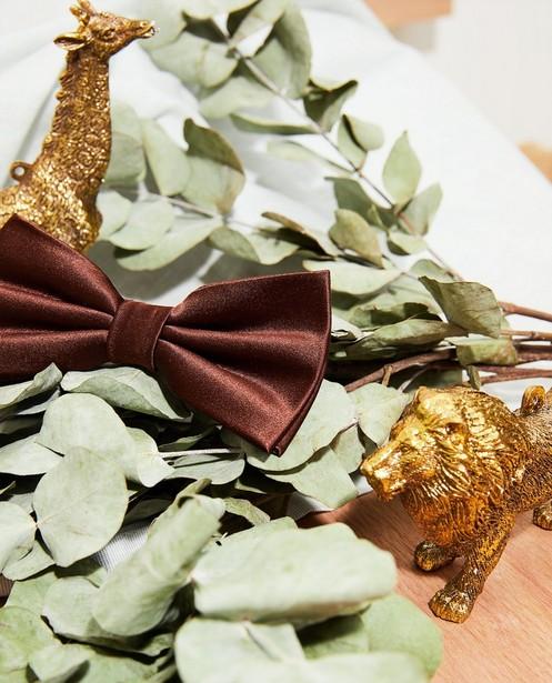Cravates - Nœud brun, 7-14 ans