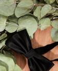 Dassen - Glanzend zwart strikje