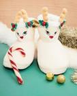Pantoufles de Noël, pointures33-40 - Rudolphe - JBC