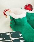 Schoenen - Groene kerstpantoffels, maat 33-40