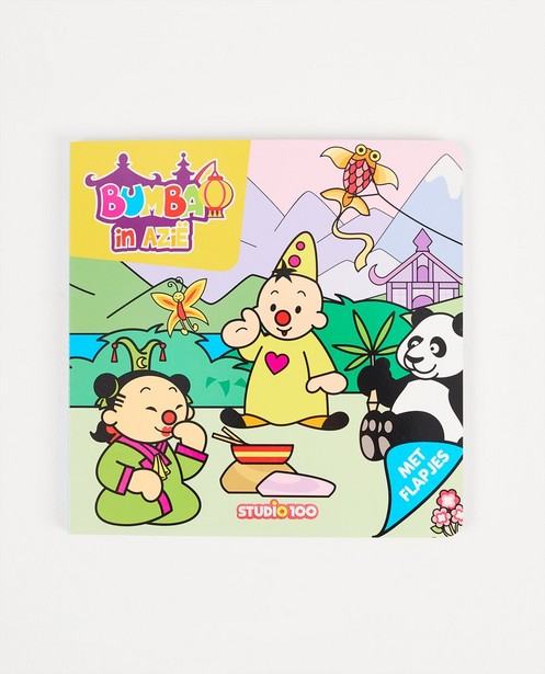Bumba en Asie - avec rabats - livre - Bumba