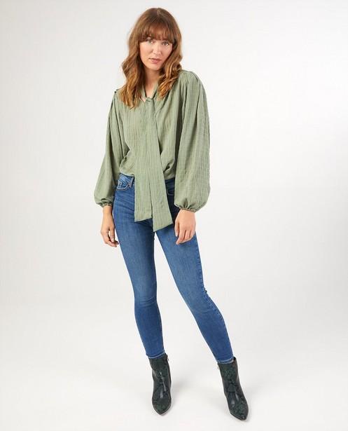 Skinny jeans Pieces - van denim - Pieces