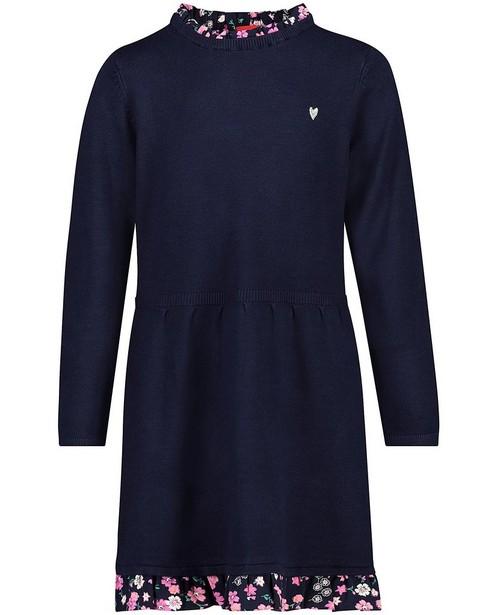 Robe bleue tricotée s.Oliver - en fin tricot - S. Oliver