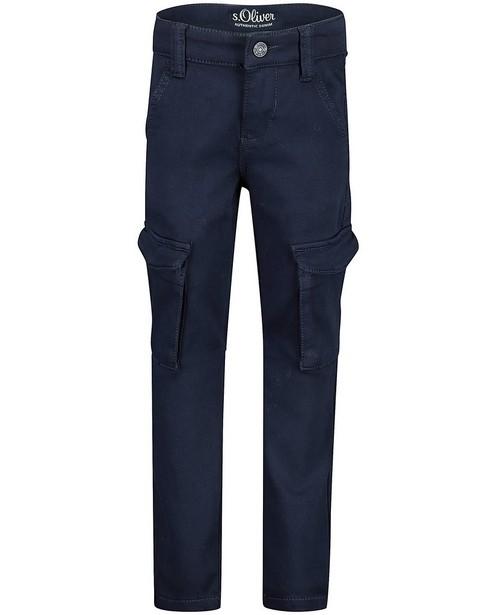 Blauwe slim broek Brad s.OIiver - stretch - S. Oliver