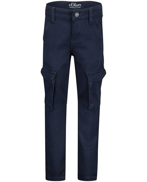 Pantalon bleu slim Brad s.Oliver - stretch - S. Oliver