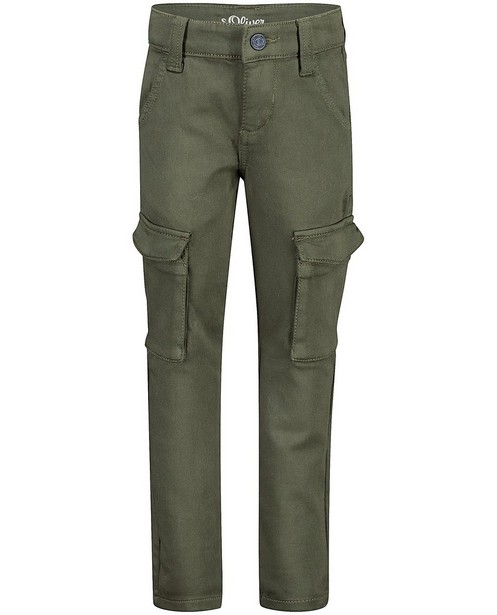 Pantalon vert slim Brad s.Oliver - stretch - S. Oliver