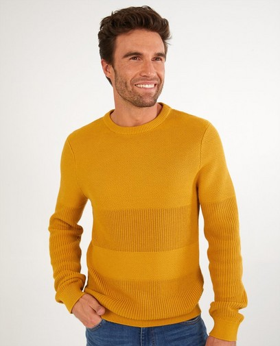 Pull ocre QS designed by