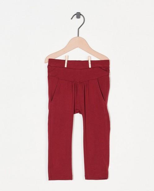 Pantalon bordeaux Enfants - stretch - Enfant