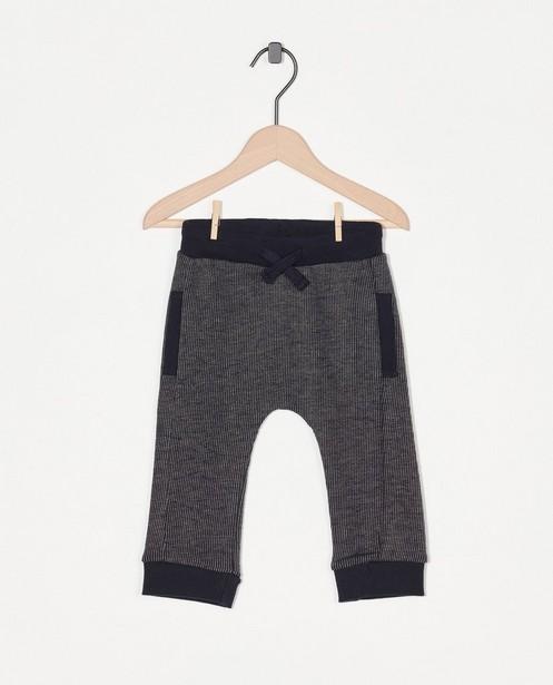 Pantalon bleu Enfant - imprimé blanc et bleu - Enfant