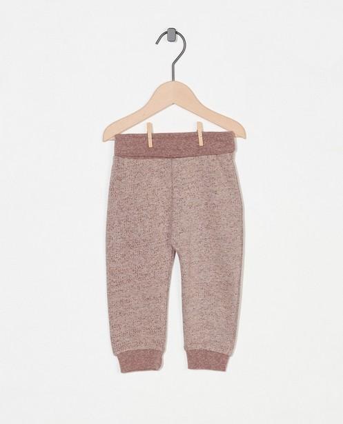 Pantalon brun Fixoni - chiné - Fixoni
