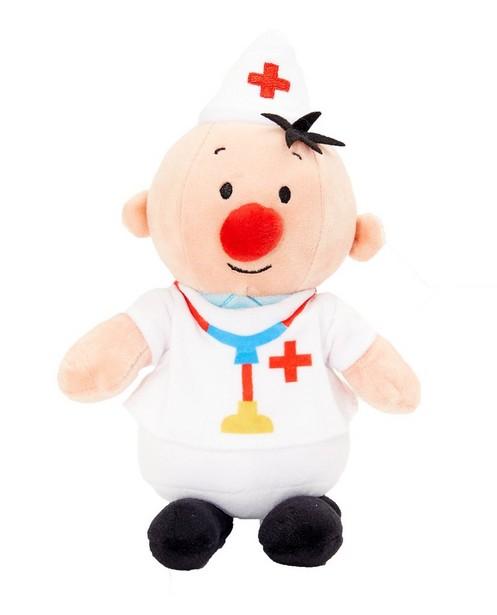 Peluche Bumba à câliner - médecin - Bumba - Bumba