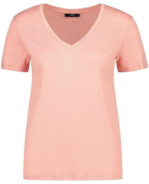 Roze T-shirt Sora - met glitter - Sora