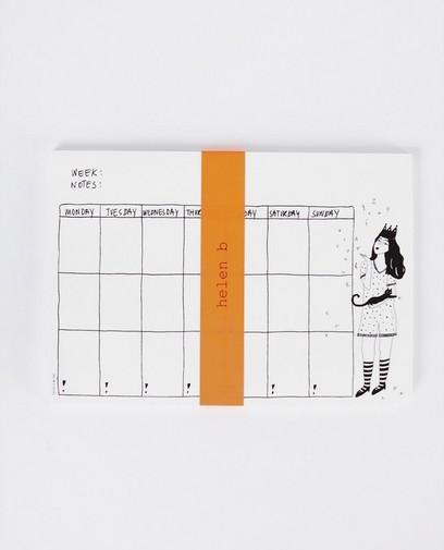 Weekplanner - helen b