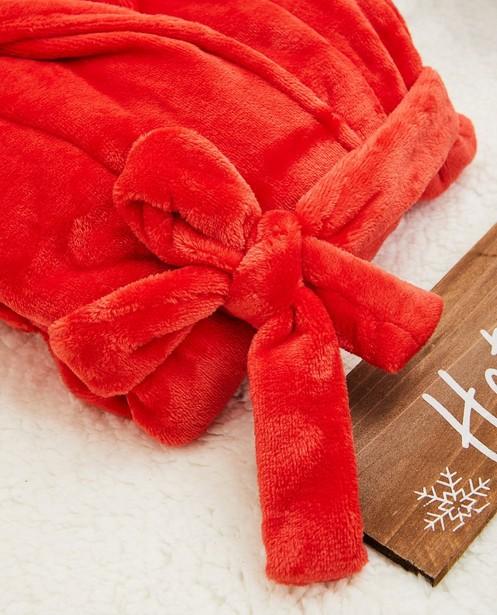 Accessoires pour bébés - Rode kamerjas van fleece