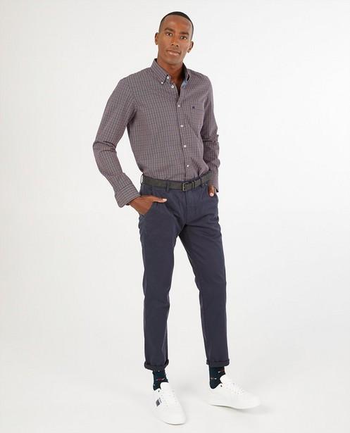 Chemise bleue à imprimé Lerros - imprimé intégral - Lerros
