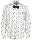 Chemises - Chemise blanche avec imprimé Communion