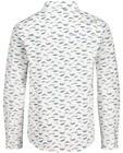 Hemden - Wit hemd met print Communie