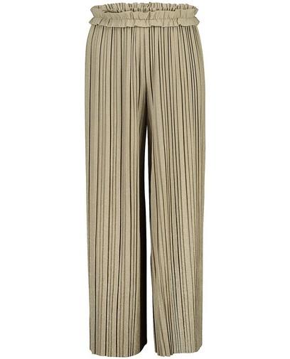 Pantalon vert plissé Communion