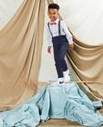 Pantalon bleu à pois Communion - imprimé intégral - Kidz Nation