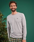 T-shirts - Grijze longsleeve Baptiste