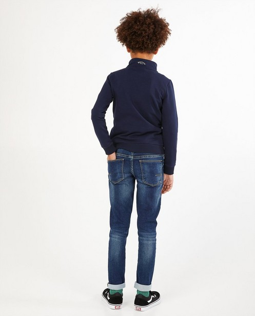 Sweats - Blauwe sweater Baptiste, 7-14 jaar