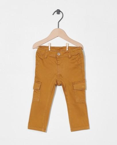Camelkleurige broek
