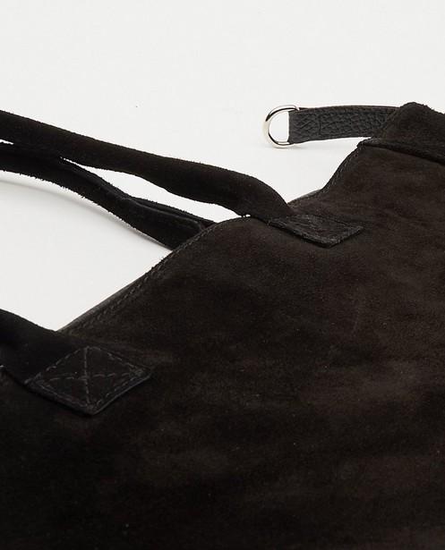 Sacs - Sac à main noir en cuir véritable