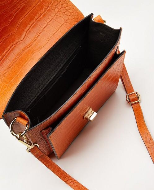 Sacs - Sac à main orange en cuir